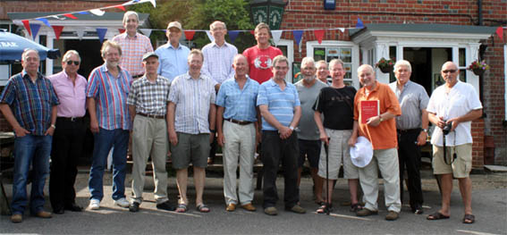 The 1960s Old Boys' Group 2014