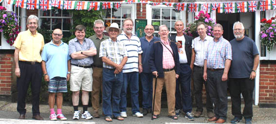 The 1960s Old Boys' Group 2016