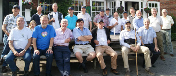 The 1960s Old Boys' Group 2017